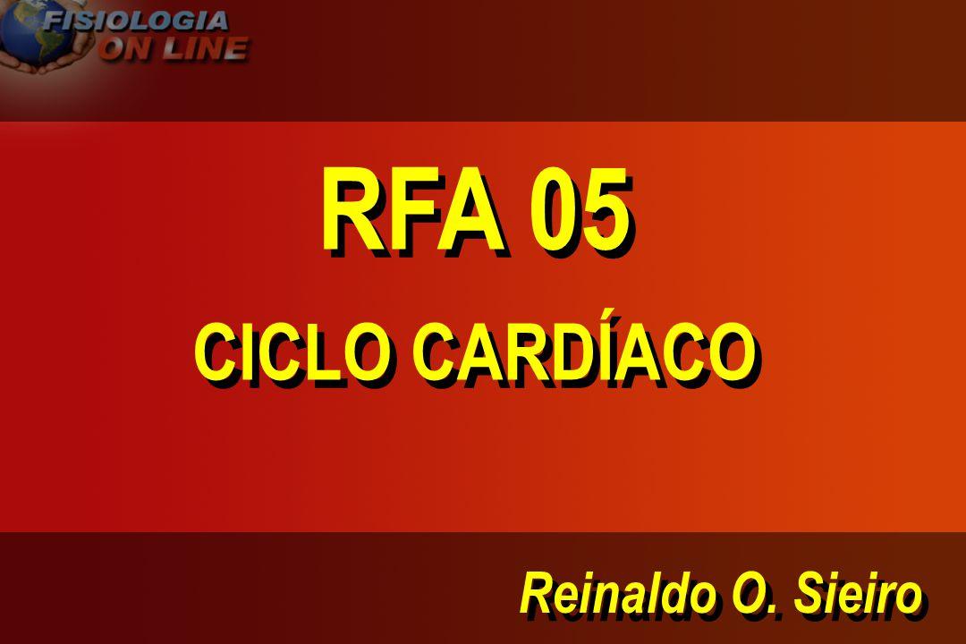 RFA 05 CICLO CARDÍACO Reinaldo O. Sieiro