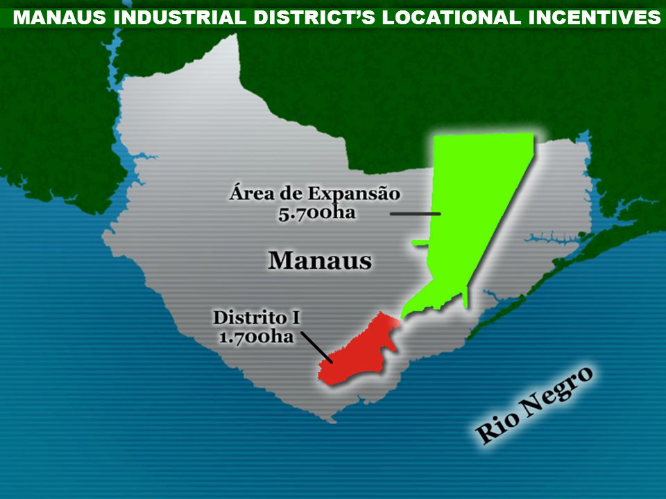 MANAUS INDUSTRIAL DISTRICT'S LOCATIONAL INCENTIVES