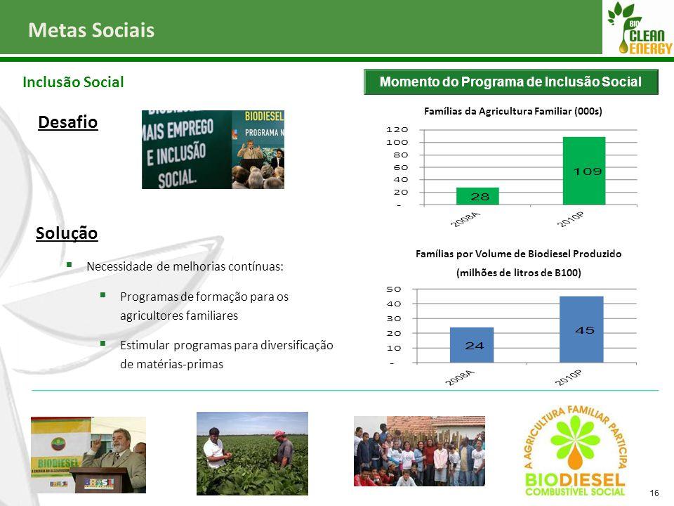 Metas Sociais Desafio Solução Inclusão Social
