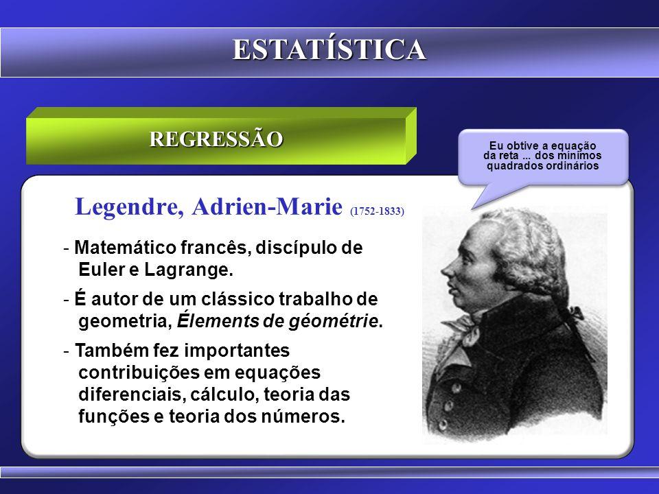 Legendre, Adrien-Marie (1752-1833)