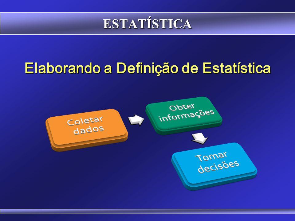Elaborando a Definição de Estatística