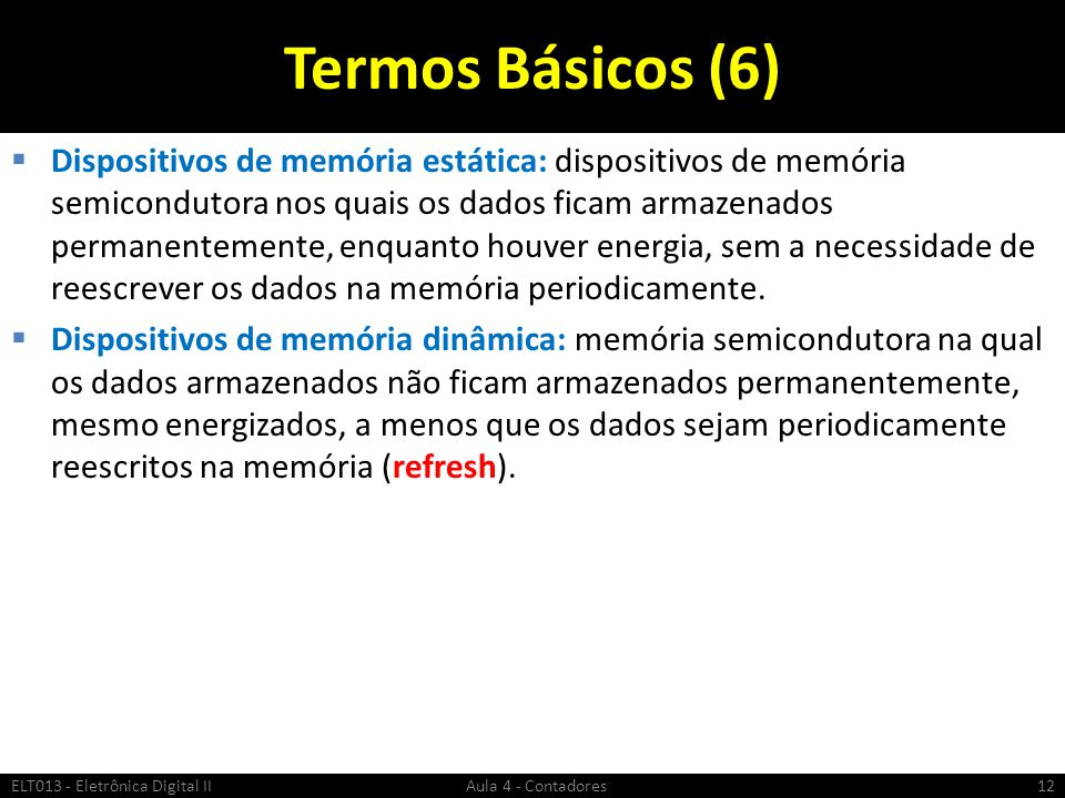 Termos Básicos (6)