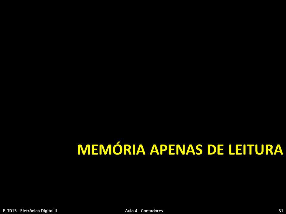 Memória Apenas de Leitura