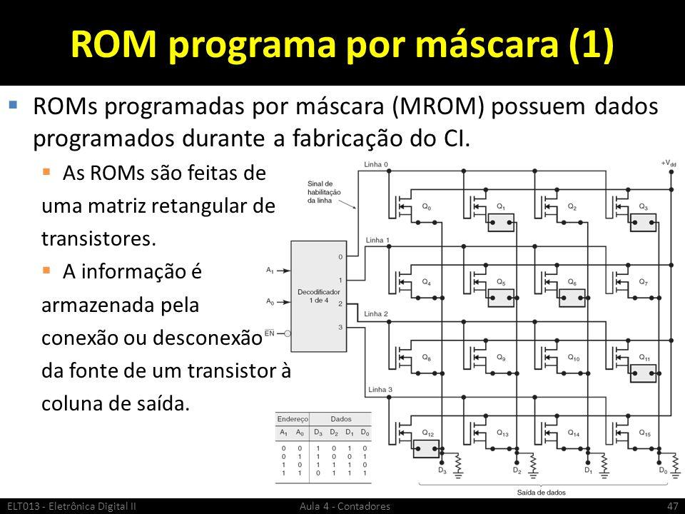 ROM programa por máscara (1)