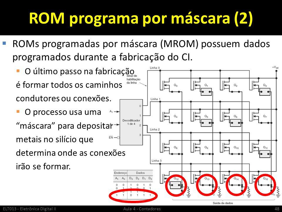 ROM programa por máscara (2)