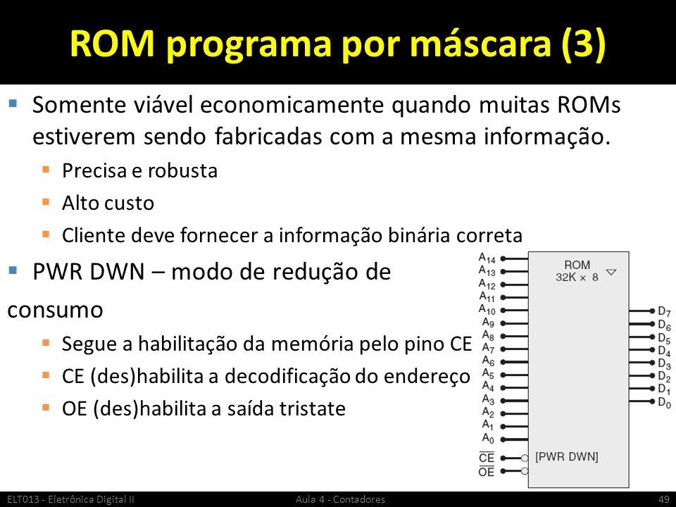 ROM programa por máscara (3)