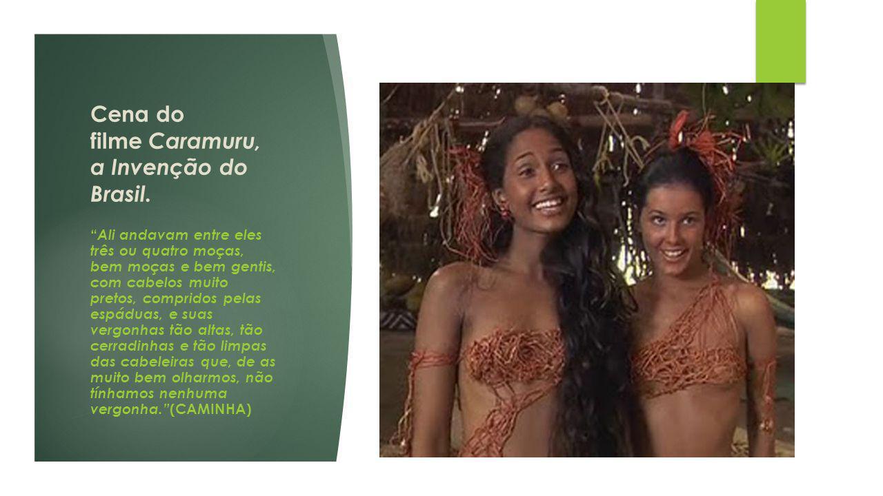 Cena do filme Caramuru, a Invenção do Brasil.