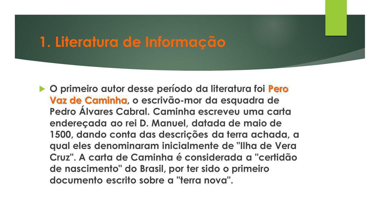 1. Literatura de Informação