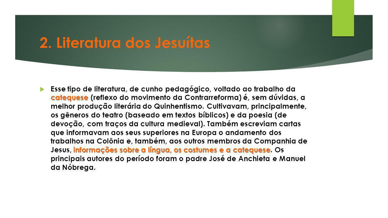 2. Literatura dos Jesuítas