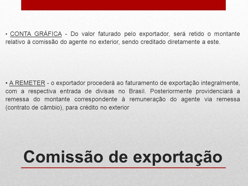 Comissão de exportação