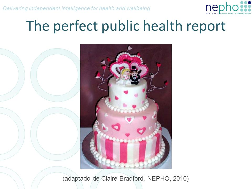 The perfect public health report