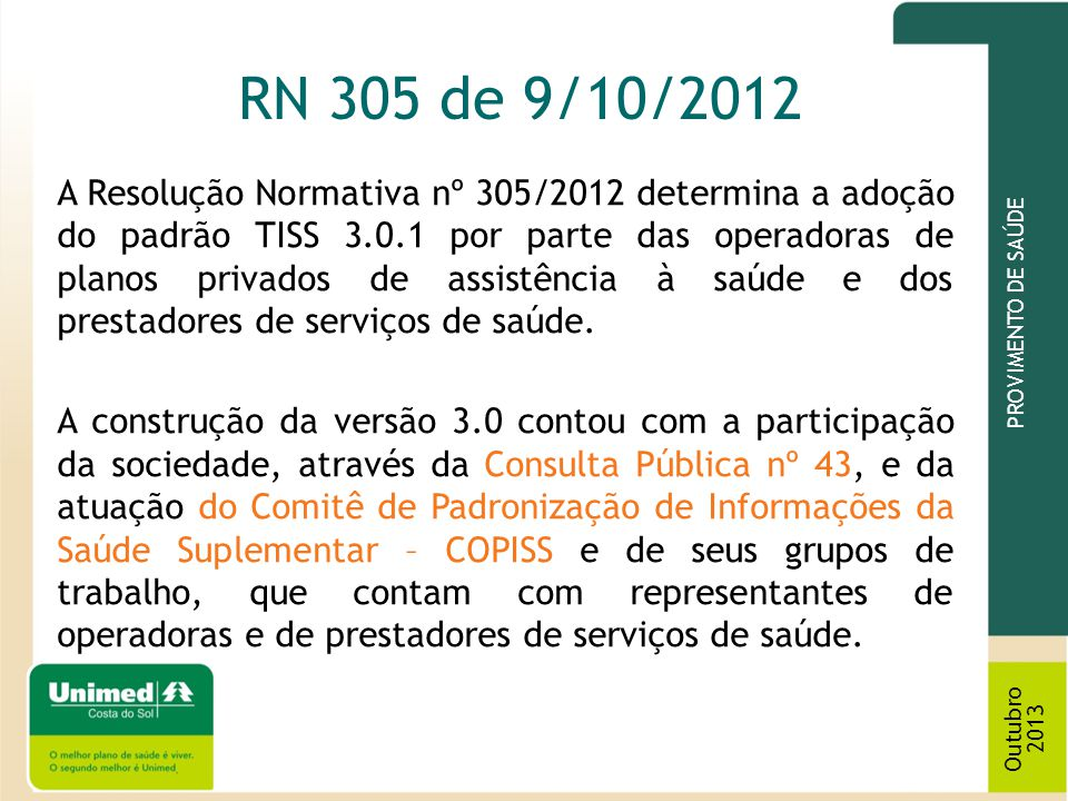 RN 305 de 9/10/2012