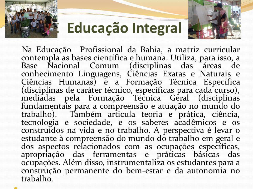E Educação Integral