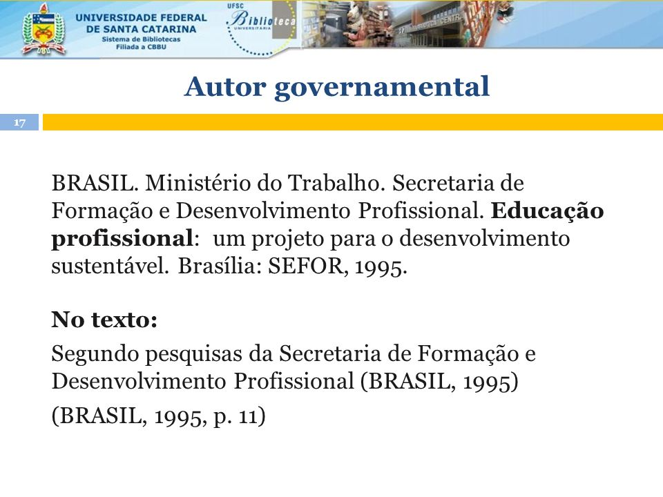 Autor governamental