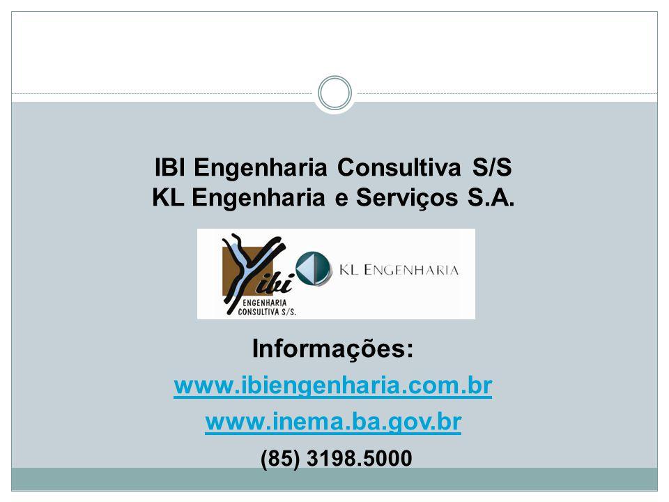 IBI Engenharia Consultiva S/S KL Engenharia e Serviços S. A