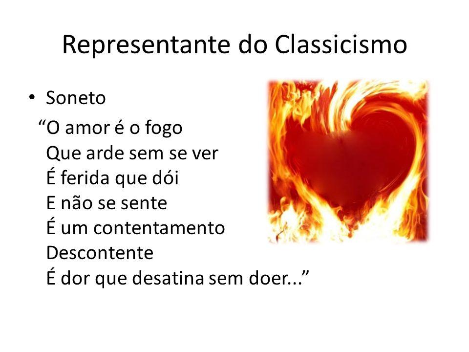 Representante do Classicismo