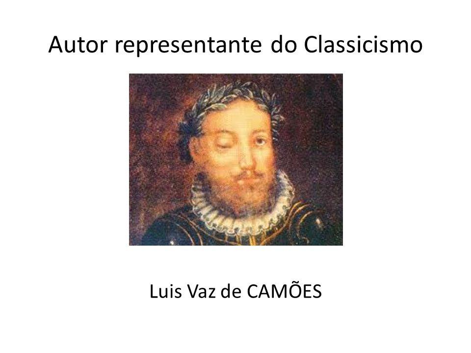 Autor representante do Classicismo