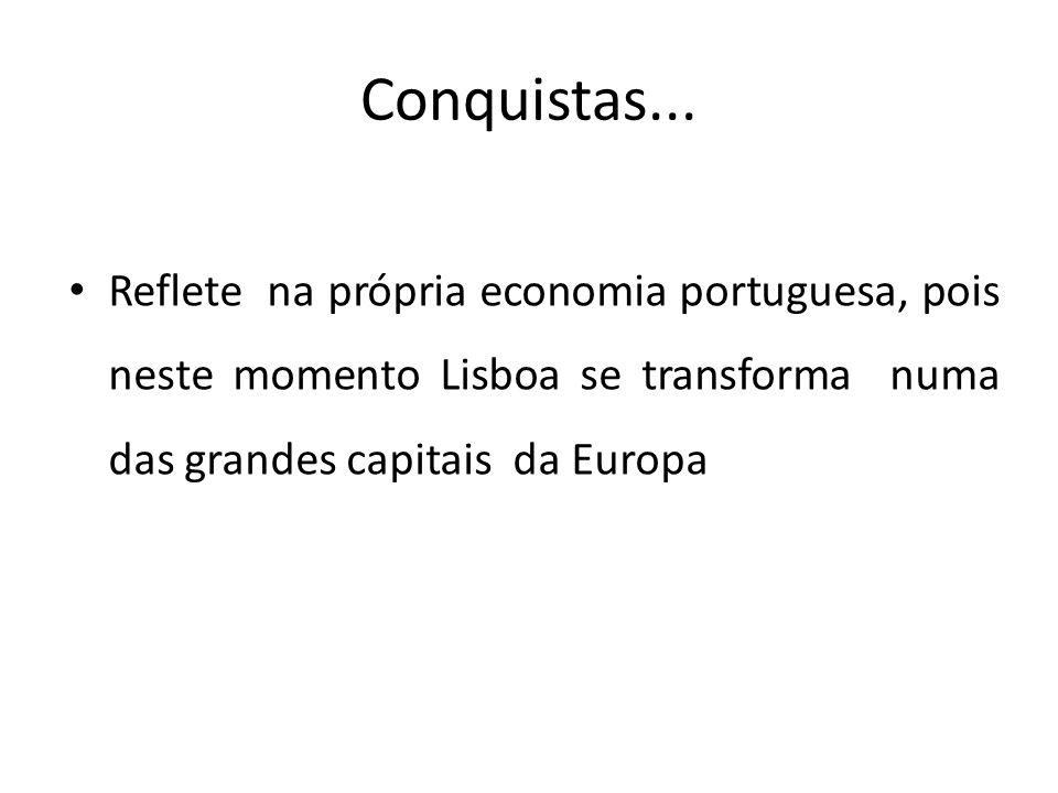 Conquistas...
