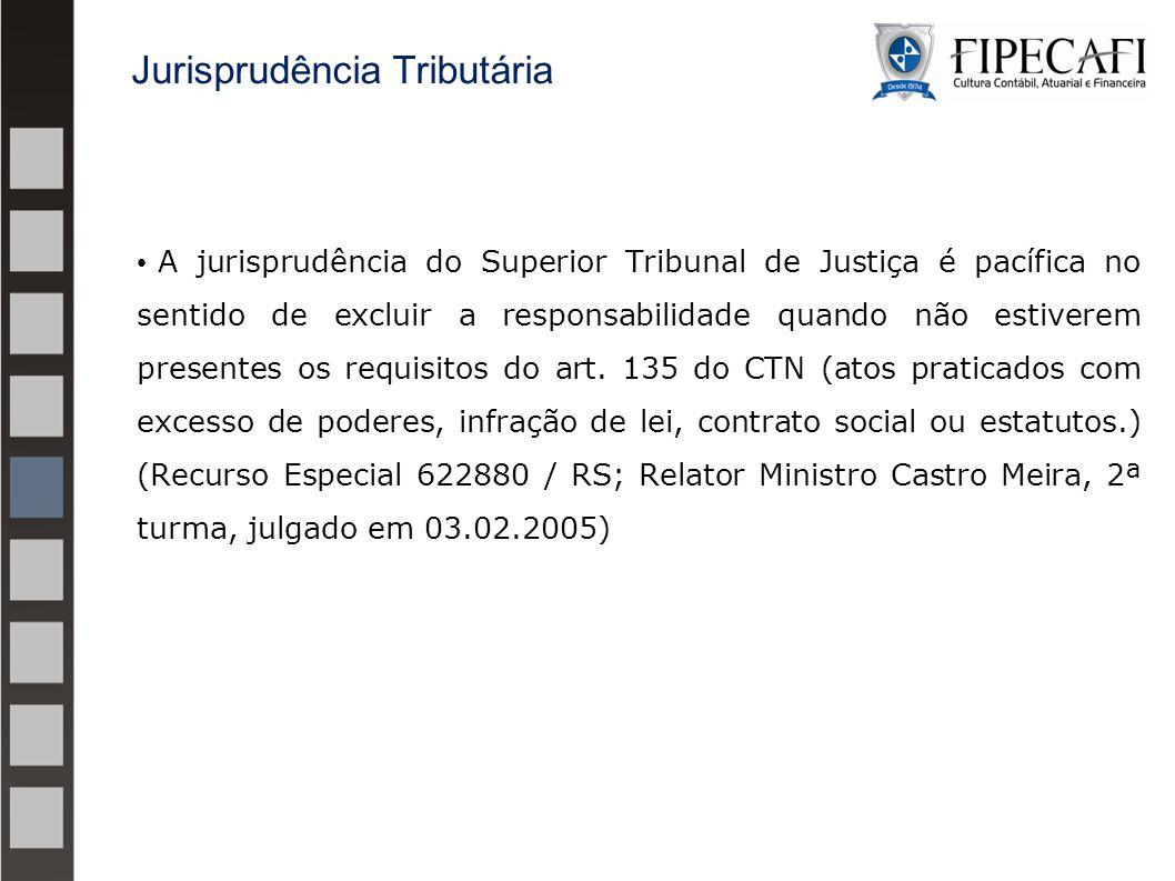Jurisprudência Tributária