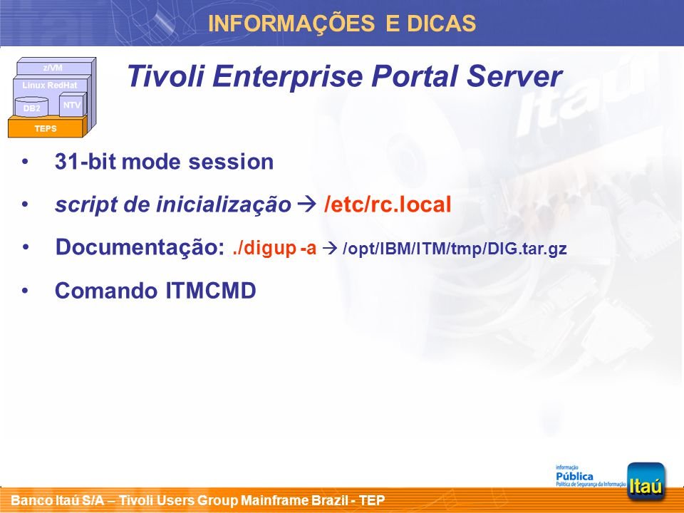 Tivoli Enterprise Portal Server
