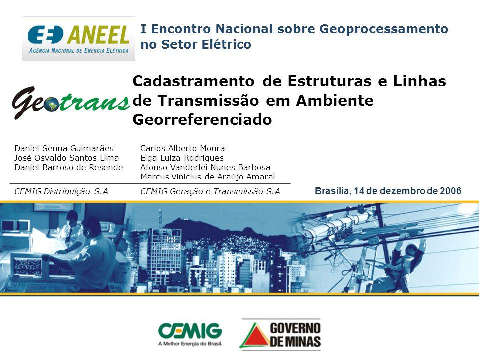 I Encontro Nacional sobre Geoprocessamento no Setor Elétrico