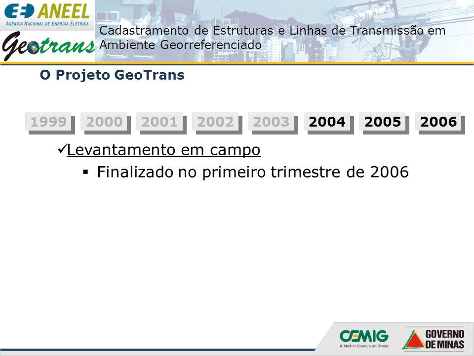 Finalizado no primeiro trimestre de 2006