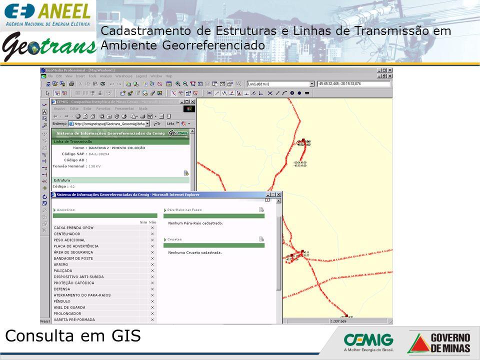 Consulta em GIS