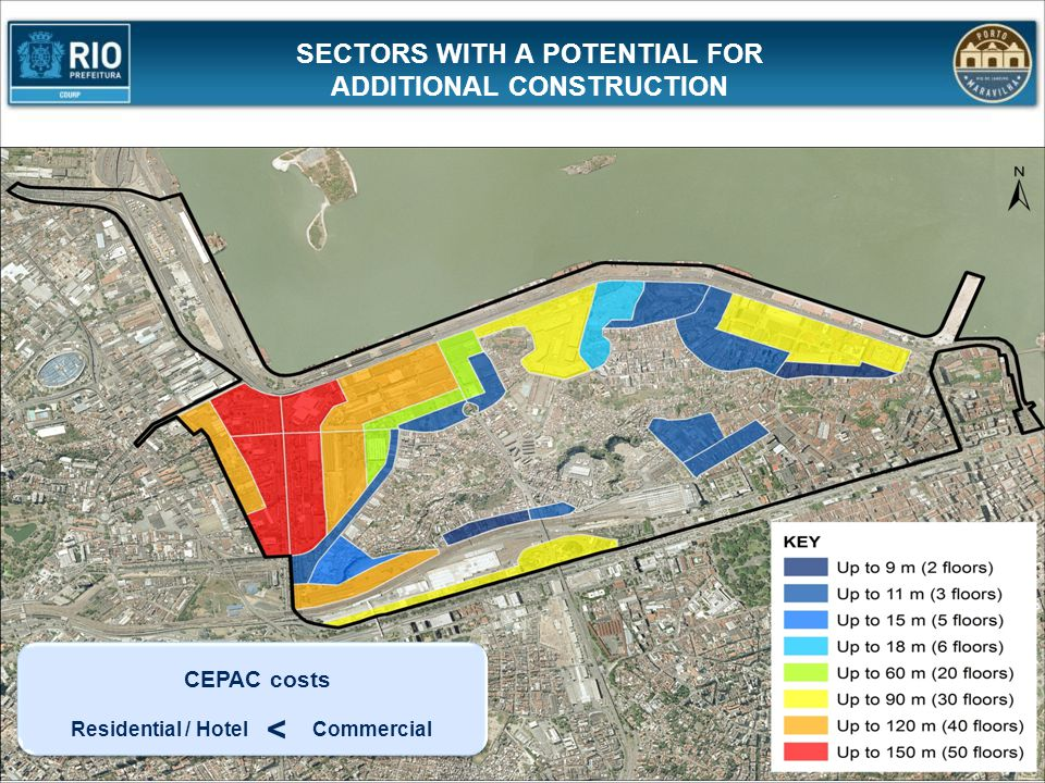 SECTORS WITH A POTENTIAL FOR ADDITIONAL CONSTRUCTION