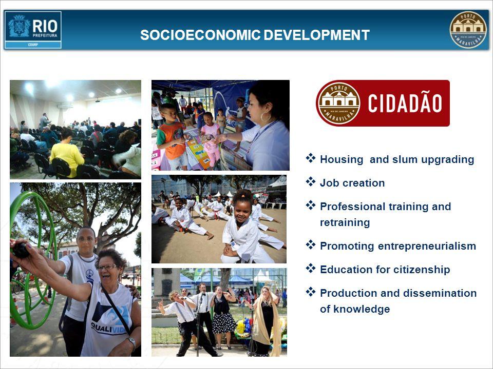 SOCIOECONOMIC DEVELOPMENT