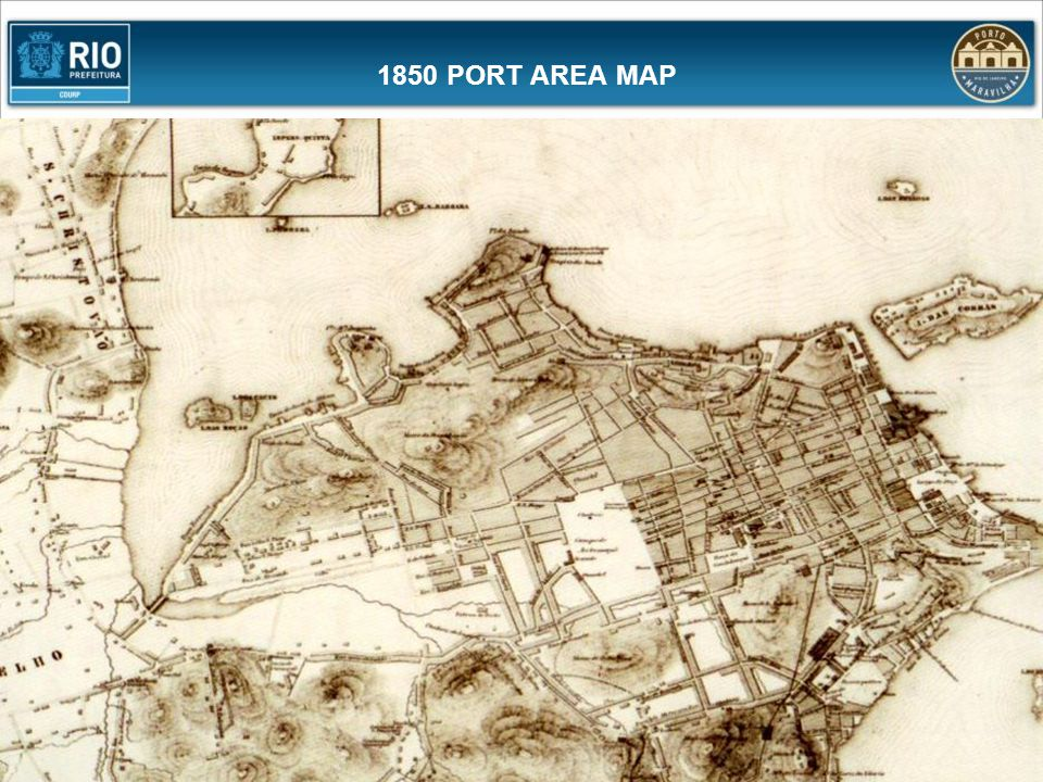 1850 PORT AREA MAP