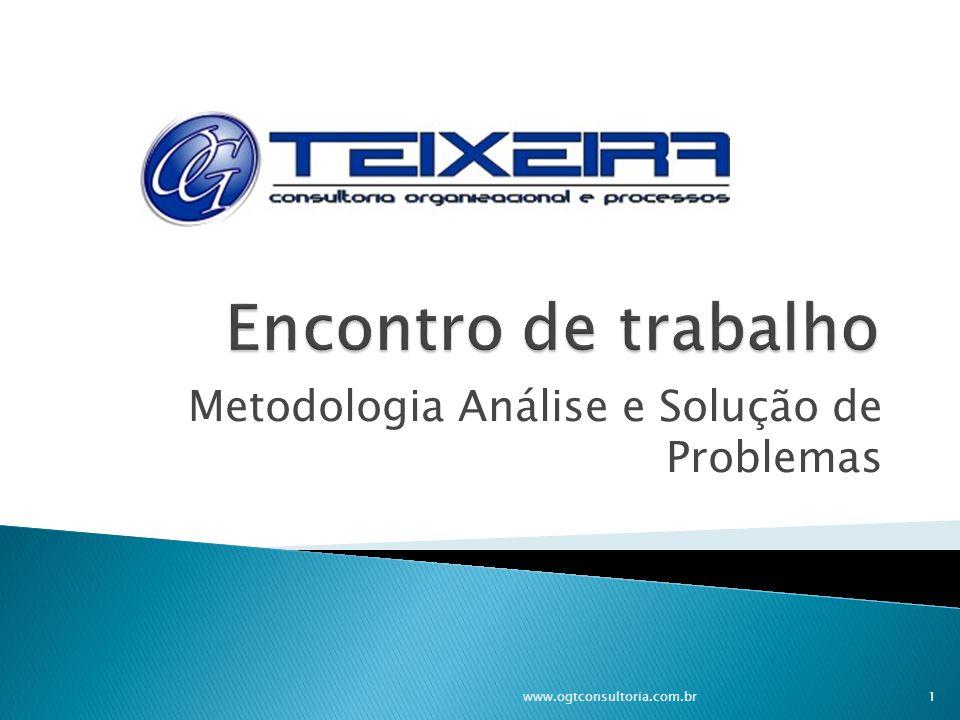 Metodologia Análise e Solução de Problemas