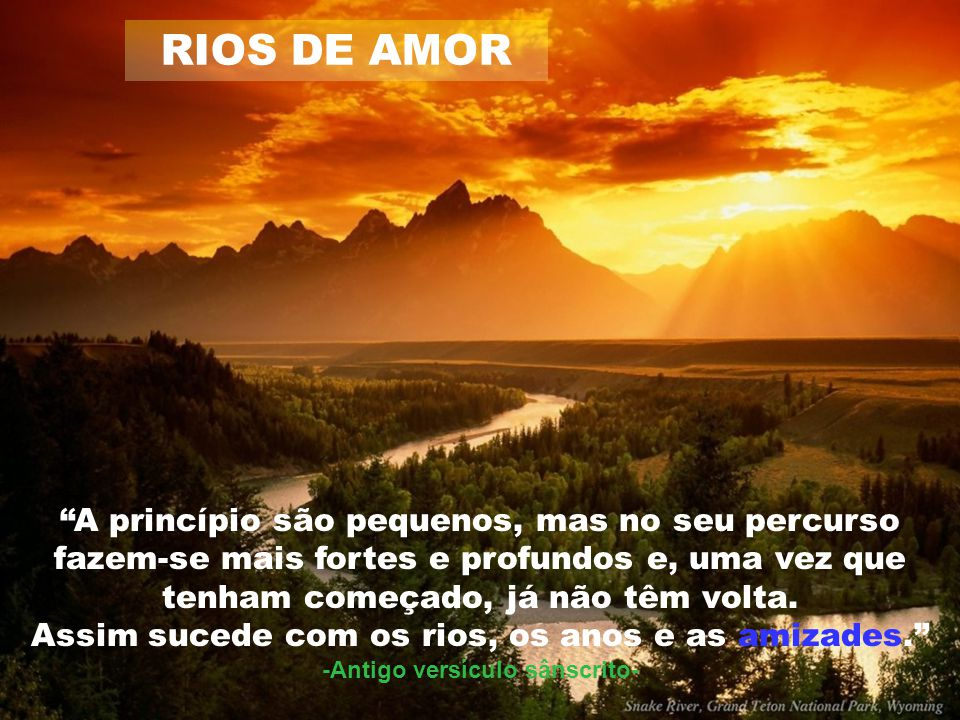 RIOS DE AMOR