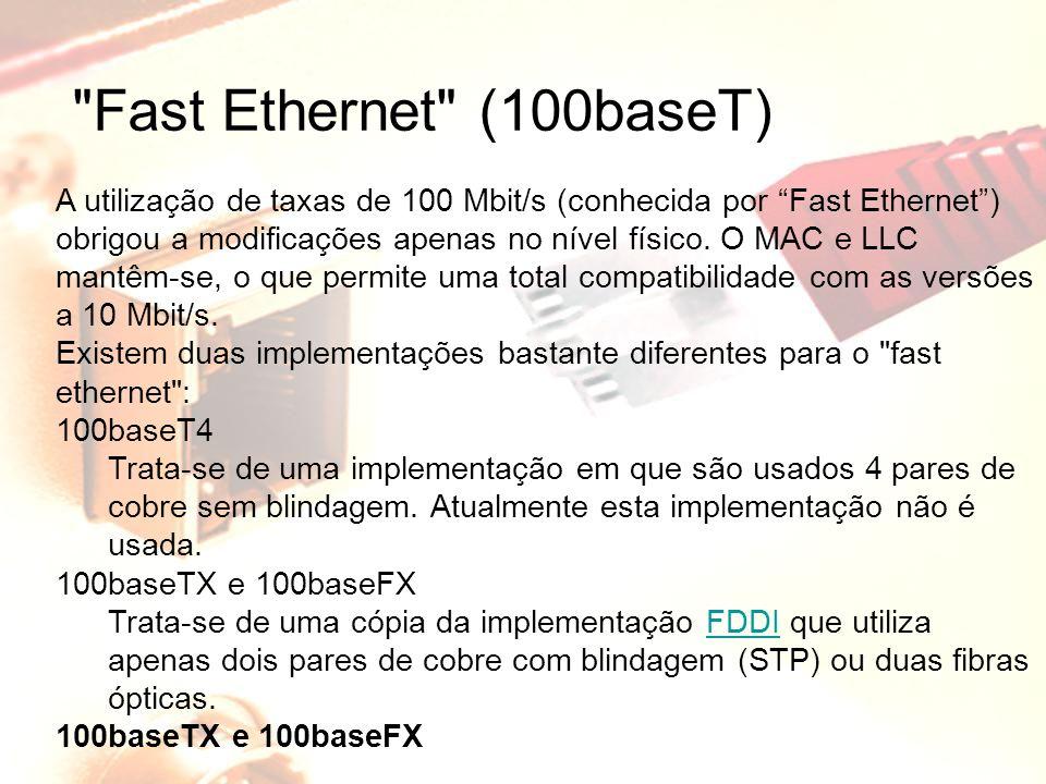 Fast Ethernet (100baseT)