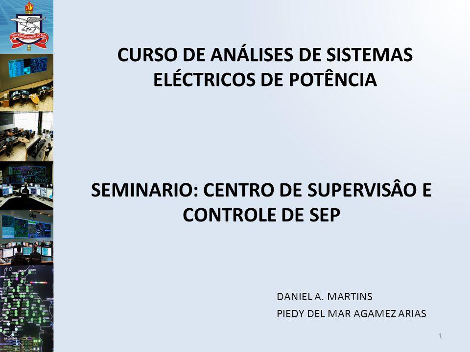 CURSO DE ANÁLISES DE SISTEMAS ELÉCTRICOS DE POTÊNCIA