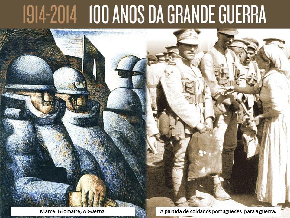 Marcel Gromaire, A Guerra.