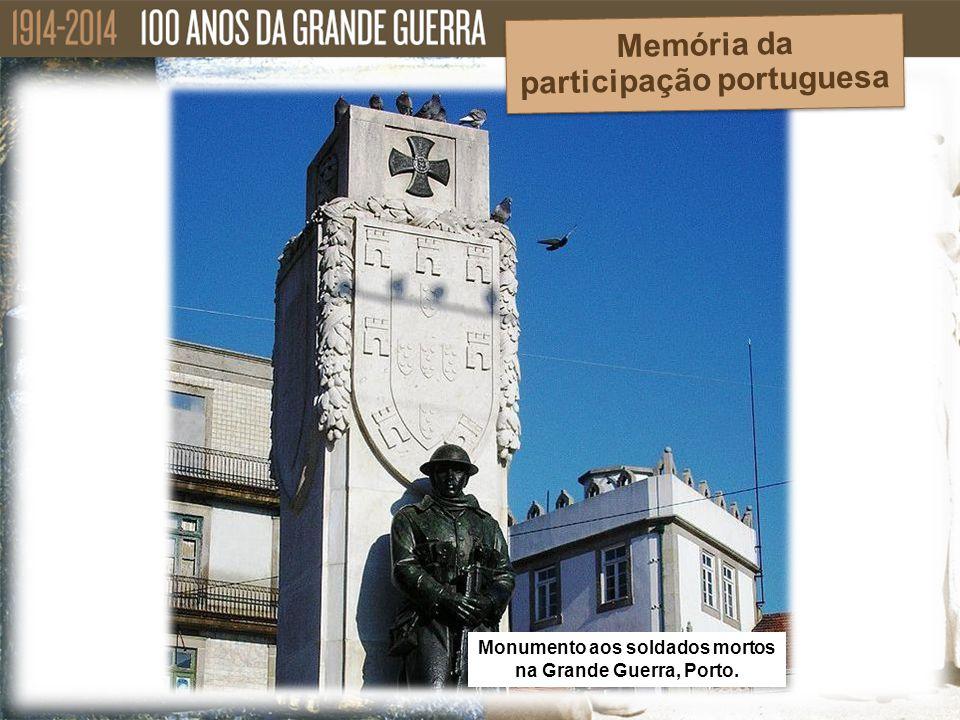 Memória da participação portuguesa