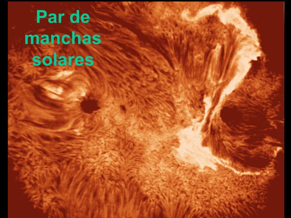 Par de manchas solares