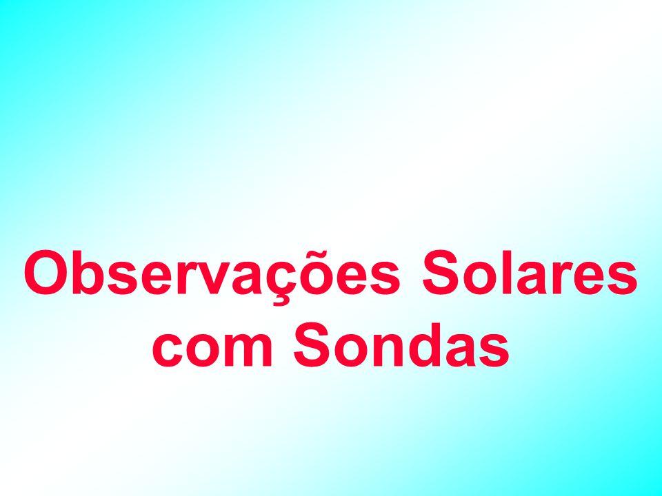 Observações Solares com Sondas