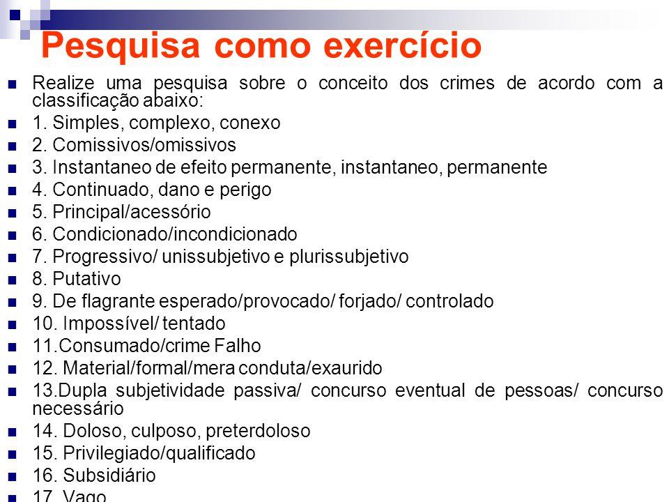 Pesquisa como exercício