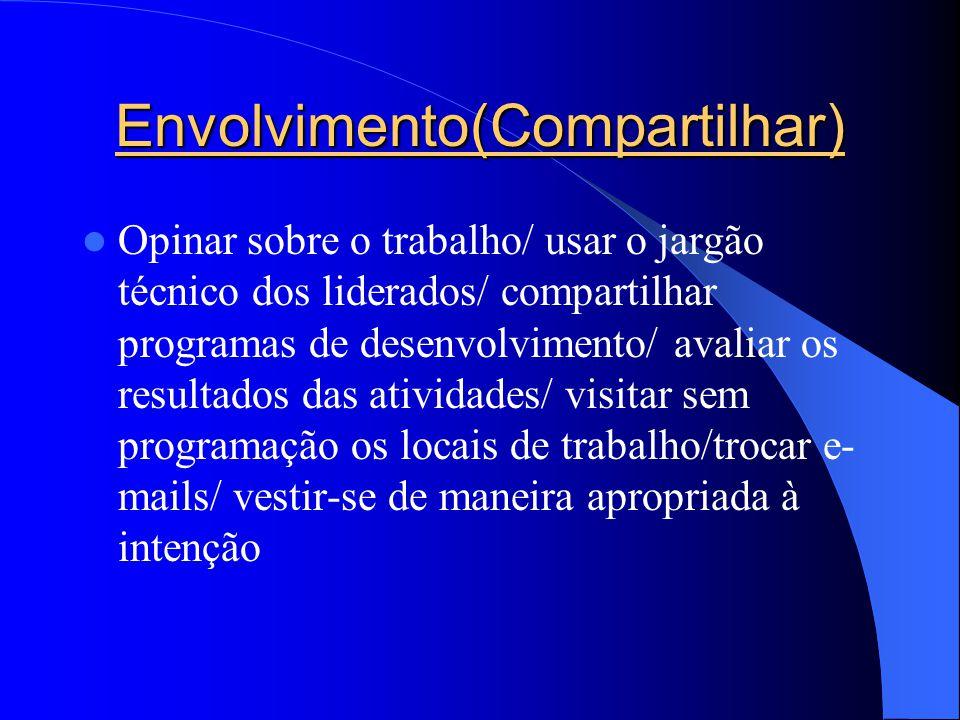 Envolvimento(Compartilhar)