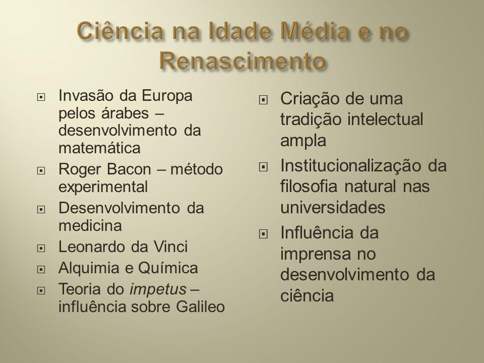 Ciência na Idade Média e no Renascimento