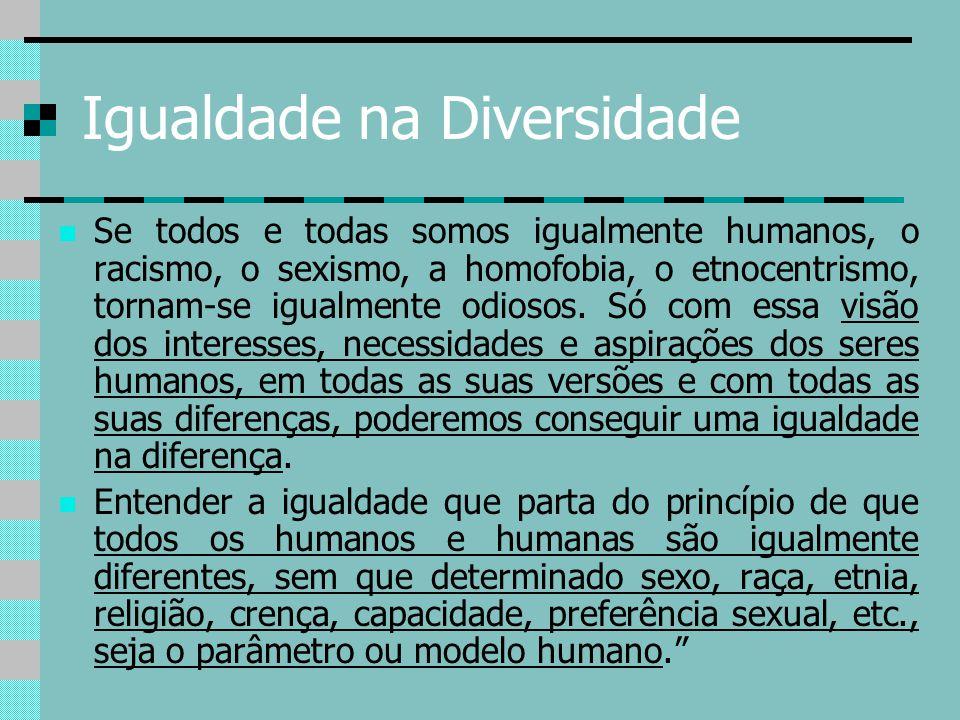 Igualdade na Diversidade