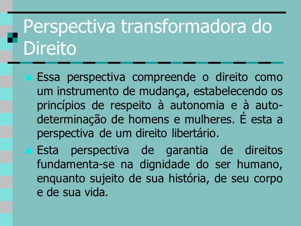 Perspectiva transformadora do Direito