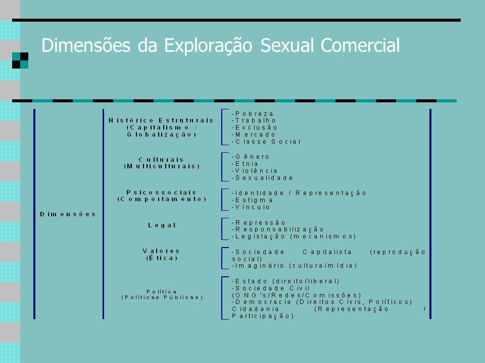 Dimensões da Exploração Sexual Comercial
