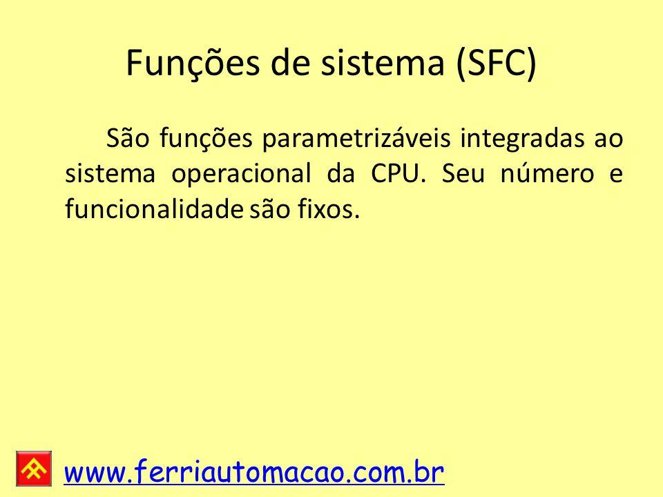 Funções de sistema (SFC)