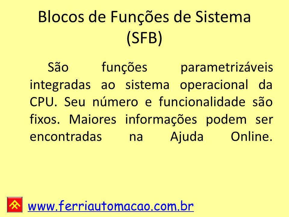 Blocos de Funções de Sistema (SFB)