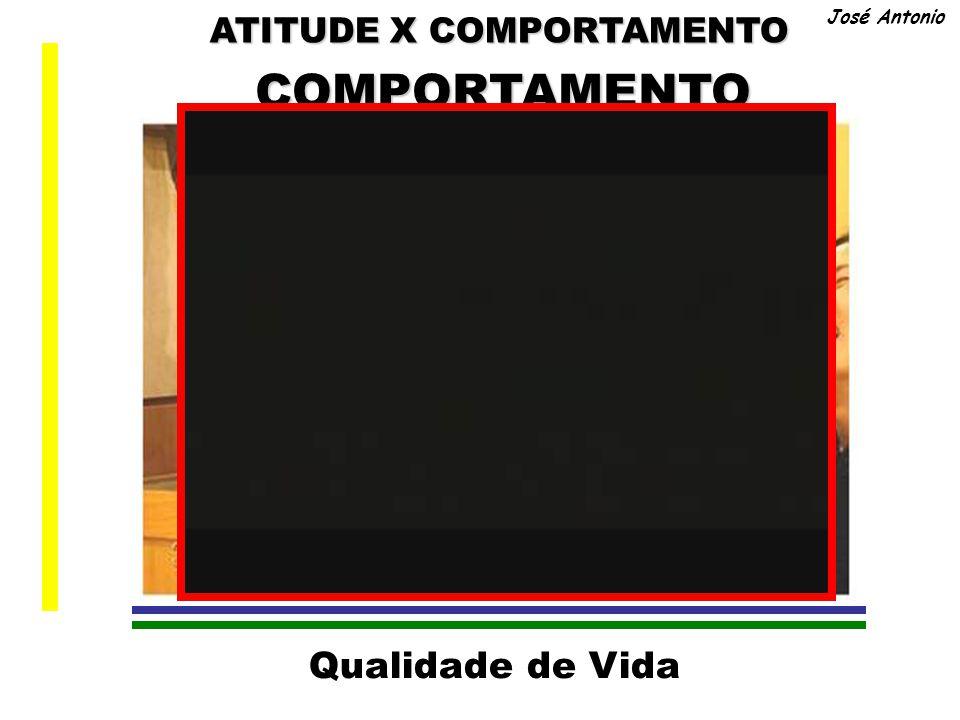 ATITUDE X COMPORTAMENTO