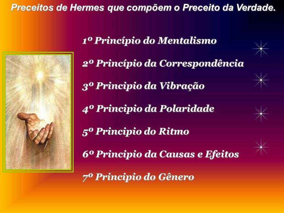 Preceitos de Hermes que compõem o Preceito da Verdade.