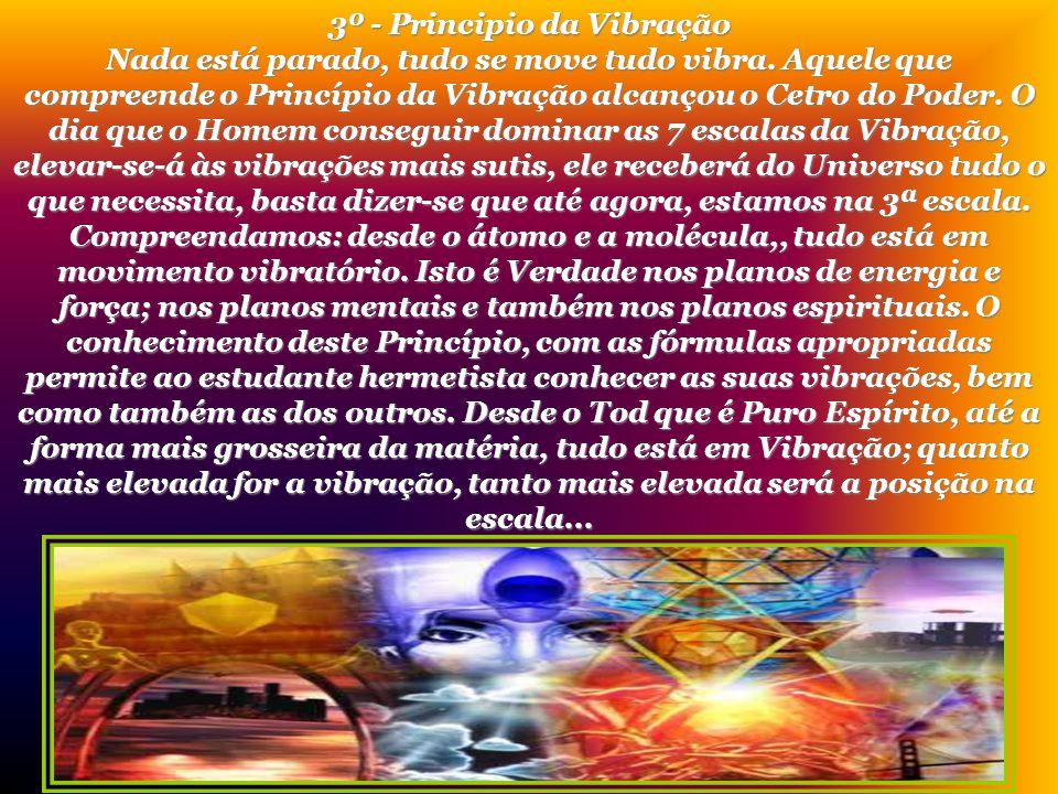 3º - Principio da Vibração