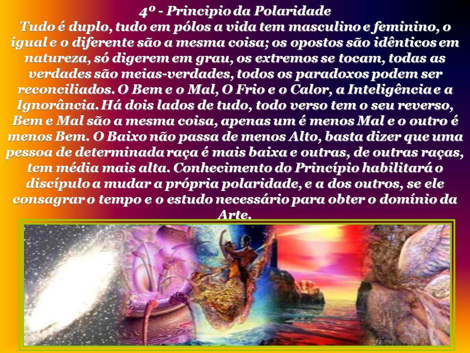 4º - Principio da Polaridade